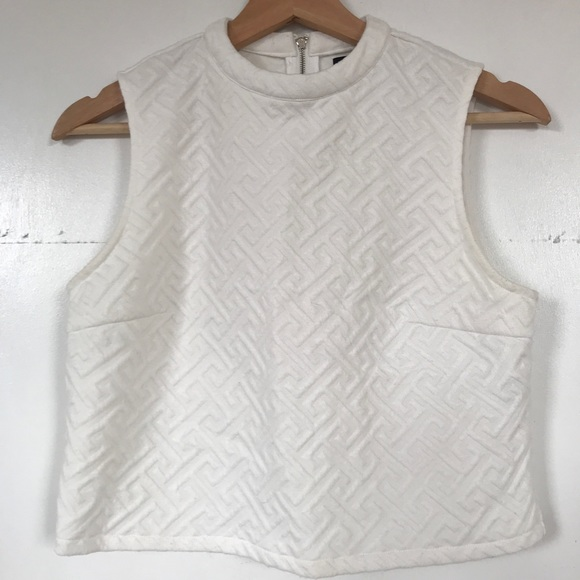 7651e0faab7 Forever 21 Tops | White Structured Crop Top | Poshmark